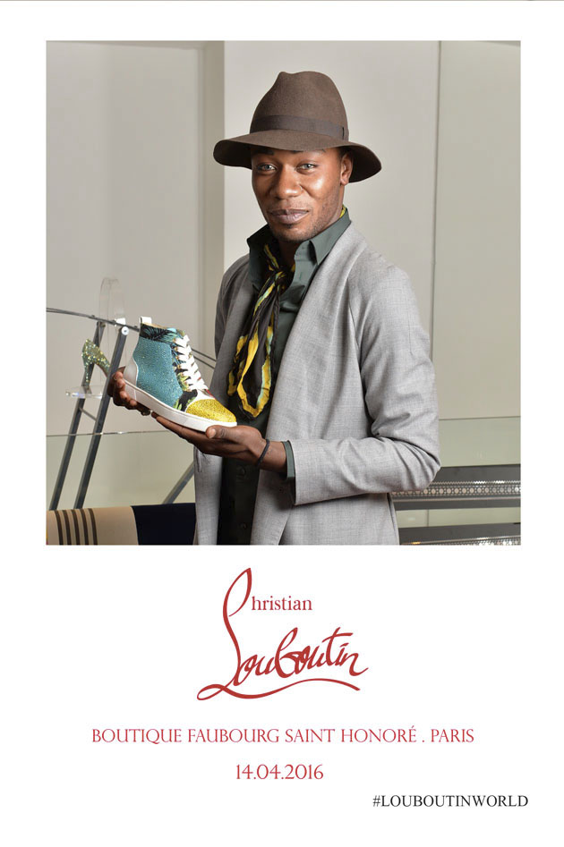 Animation photo Christian Louboutin St Honoré