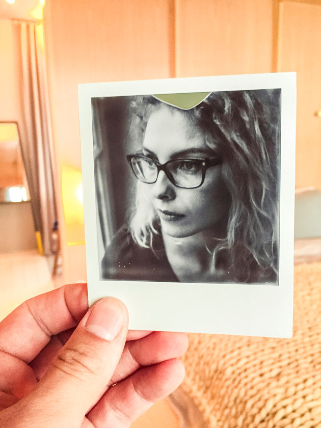 Animation photo Polaroid Marie Sixtine