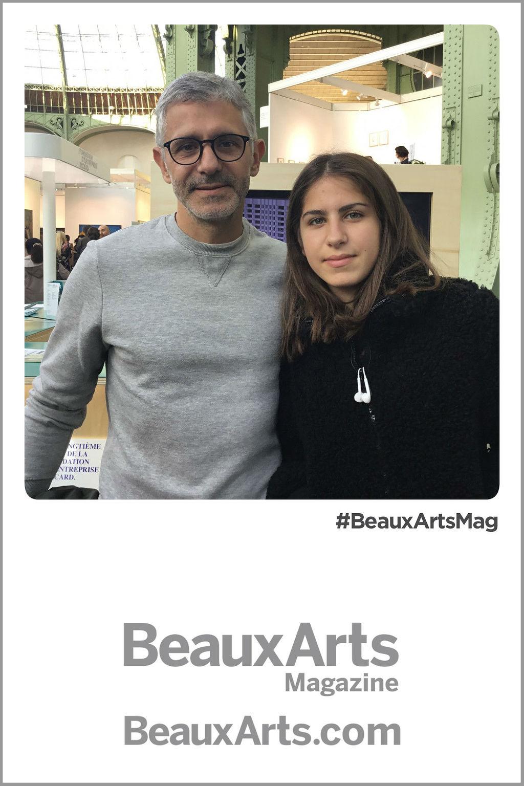 Déambulation numérique Beaux-Arts - FIAC 2018