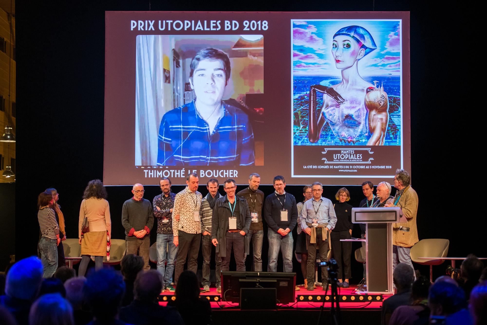 Reportage photo Utopiales 2018 Cité des Congrés