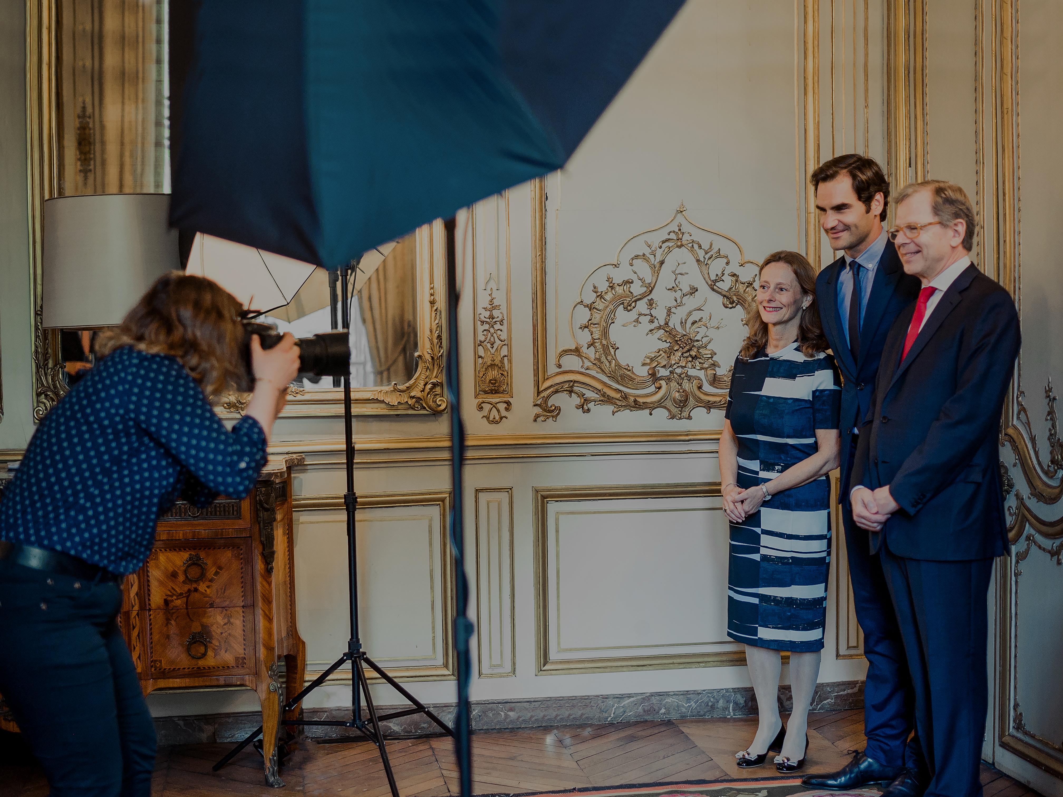 Photocall Roger Federer