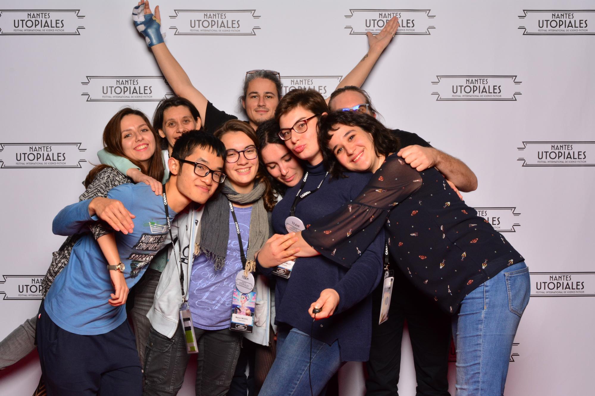 Photocall - Utopiales 2018