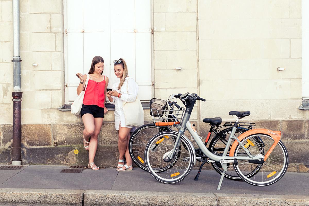 Reportage photo des nouveaux Bicloo de JCDecaux à Nantes