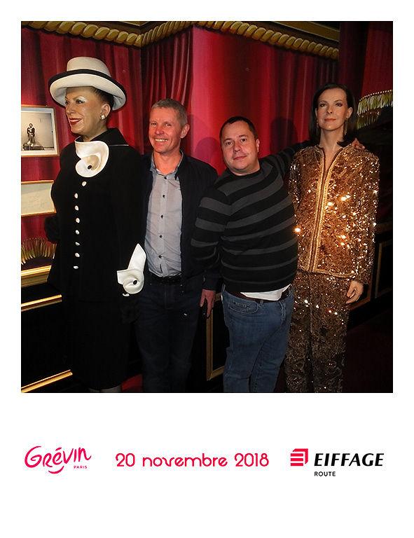 Animation Polagirl au musée Grevin pour Eiffage