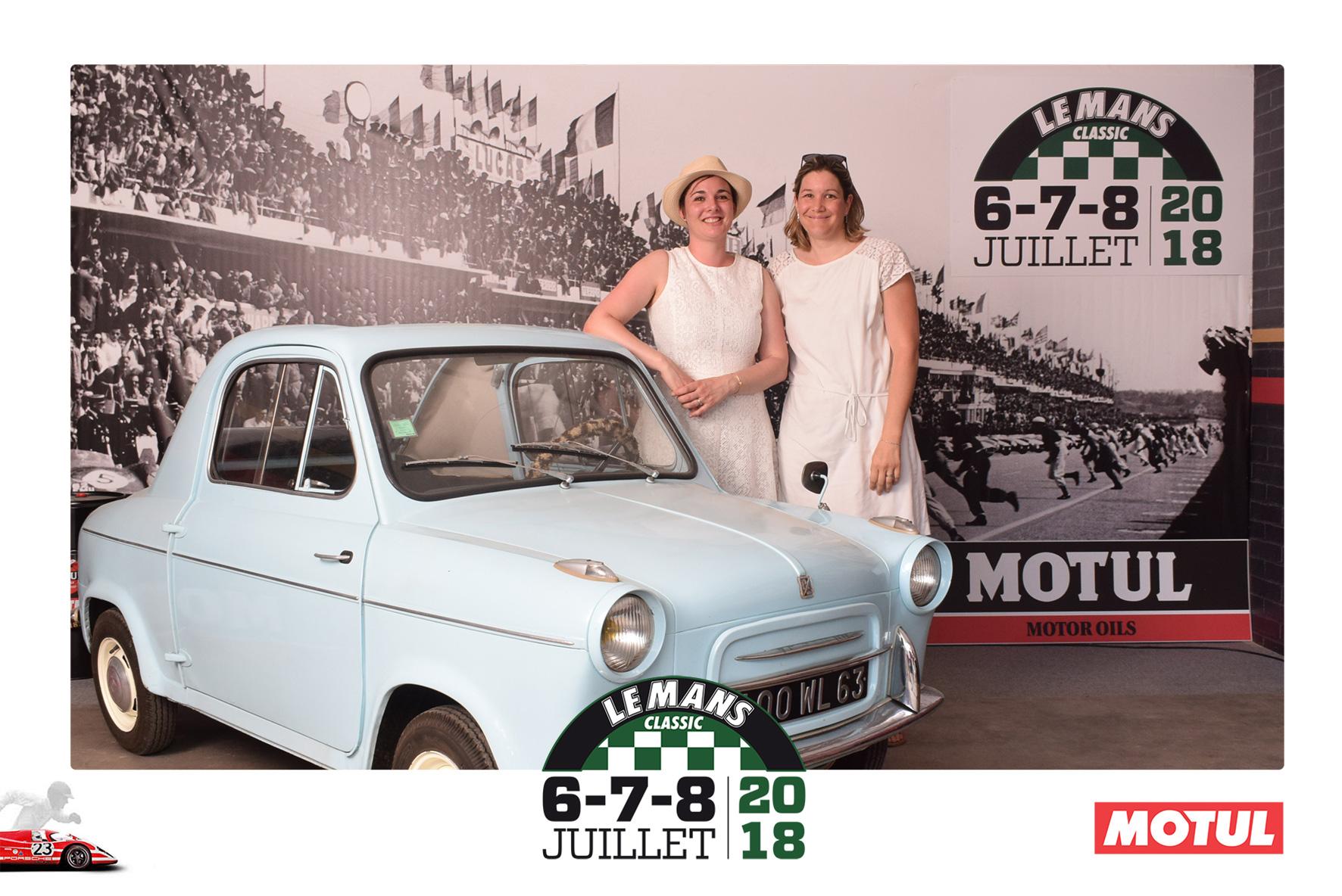 Photocall pour Le Mans Classic 2018