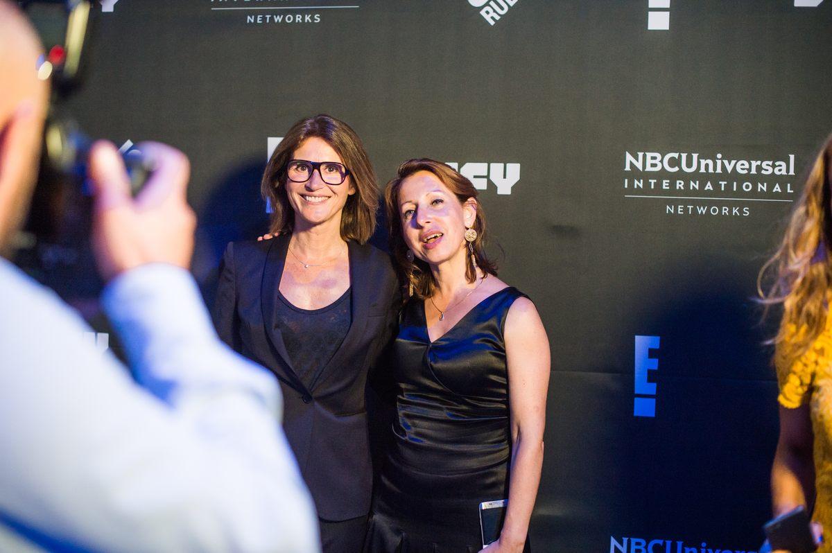 Reportage photo pour NBC Universal à la Gaîté Lyrique