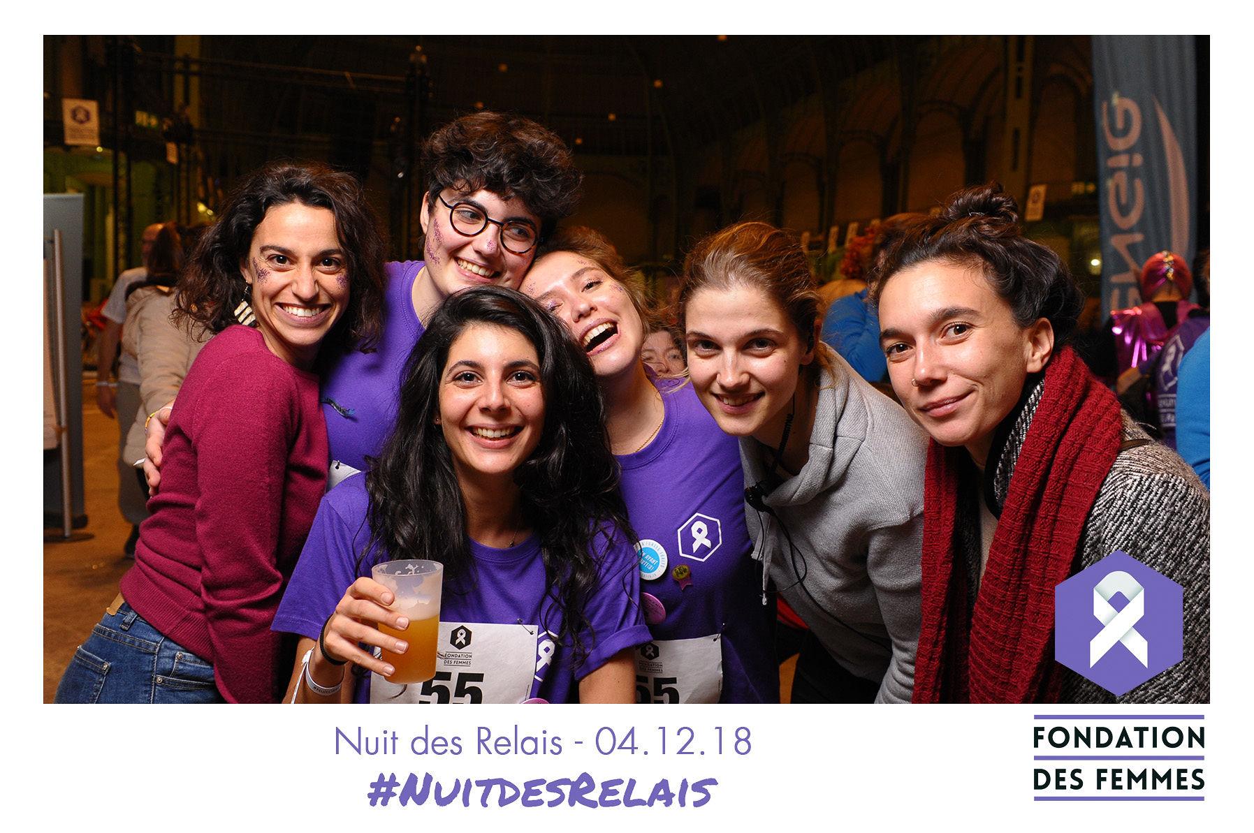 Photocall des équipes - La Nuit des Relais