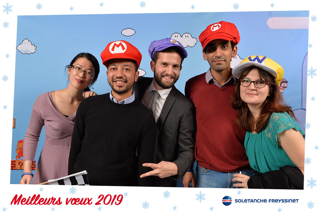 Animation photo Soletanche - Christmas party